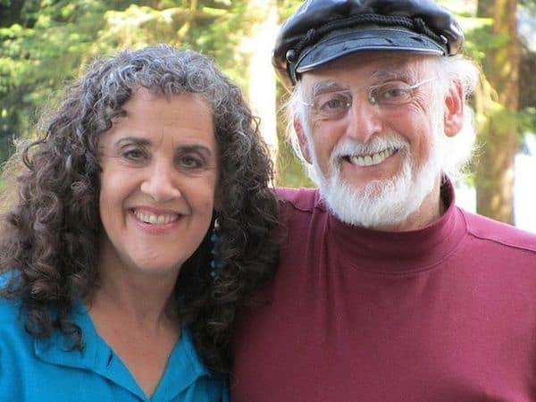 ד״ר ג׳ון גוטמן עם אשתו השלישי ג׳ולי גוטמן.