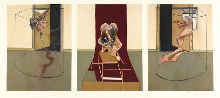 Triptych inspired by Oresteia of Aeschylus, 1981, מאת פרנסיס בייקון באדיבות cea+
