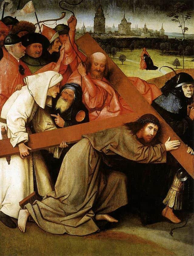 ״ישו סוחב את הצלב״, מאת הירונימוס בוש.