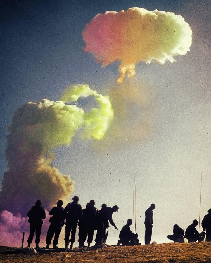 ניסוי גרעיני בנוואדה, באדיבות ה-National Nuclear Security Administration
