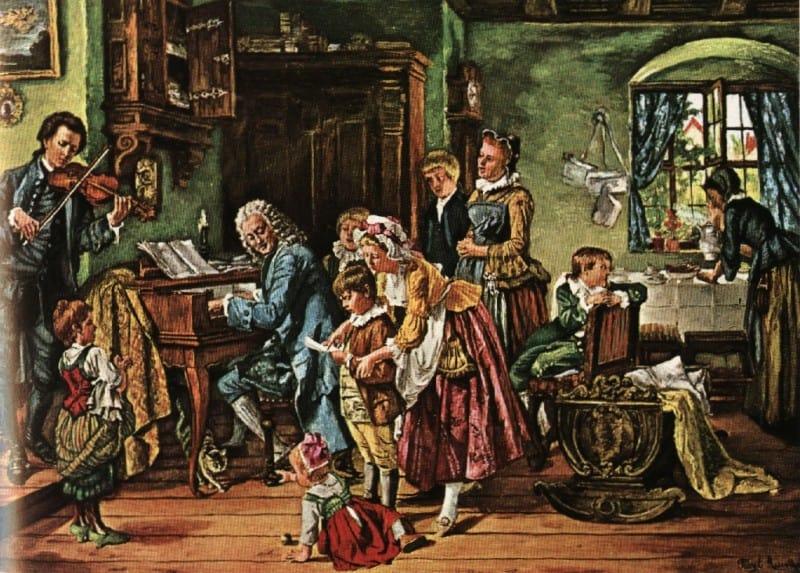 משפחת יוהאן סבסטיאן באך