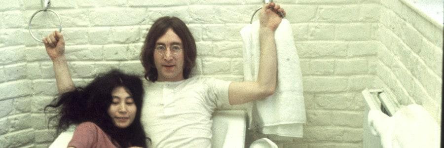 ג׳ון לנון ויוקו אונו אהבה