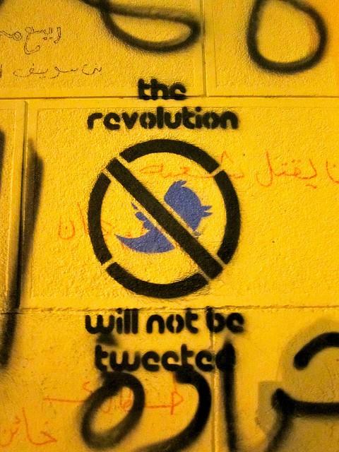 המהפכה לא תשודר בטוויטר