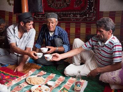 חתונה בכפר בטג'יקיסטאן