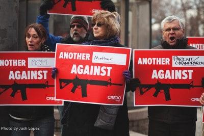 הפגנה נגד ה-NRA