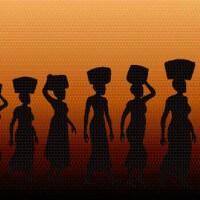 נשים נושאות סלים