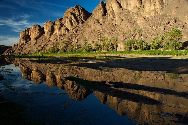 נווה המדבר פינט, ליד וורזאזאט, מרוקו