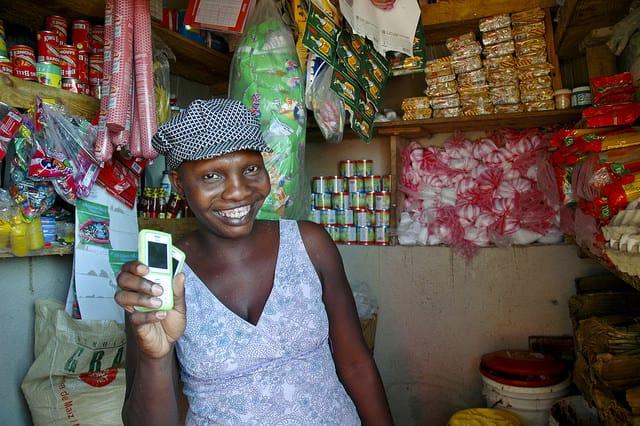 תשלומים במערכת סלולרית בהאיטי
