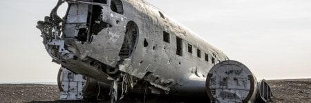 שברי מטוס DC3