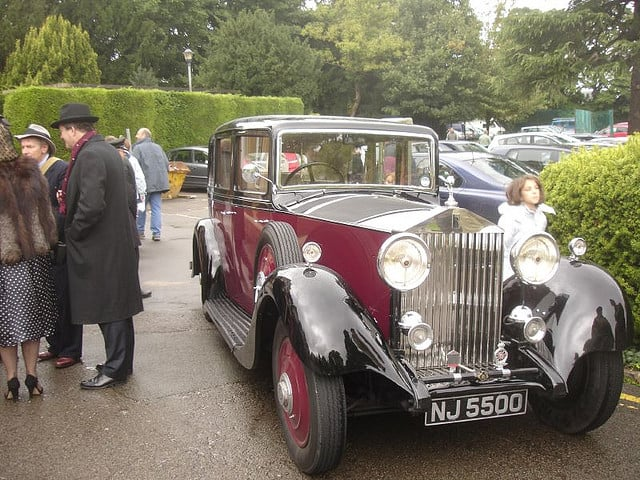 מכונית רולס רויס של צ'רצ'יל משנות המלחמה