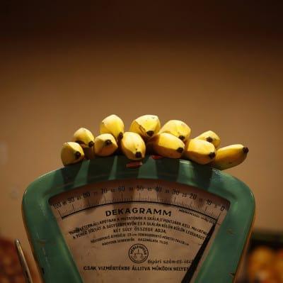 בננות על המשקל