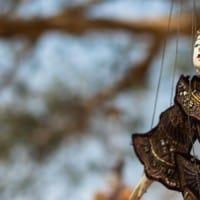 בובה תלויה בבגאן, מיאנמר (בורמה)