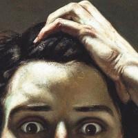 """""""האדם הנואש"""", גוסטב קורבה (Gustave Courbet)"""