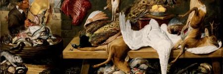 פרנס סניידרס, מראה של שוק על מזח (1635-1640).