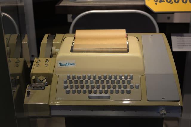 מסוף Teletype MDI 33