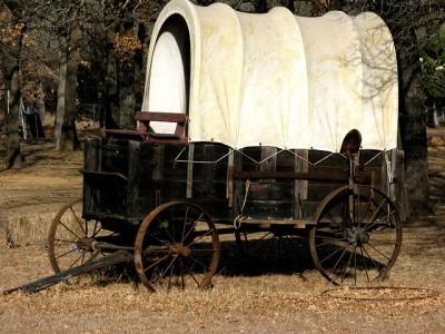 """עגלה, מערב ארה""""ב"""