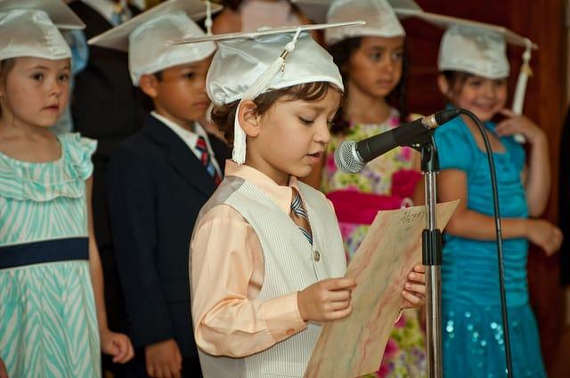 טקס סיום גן ילדים, 2011