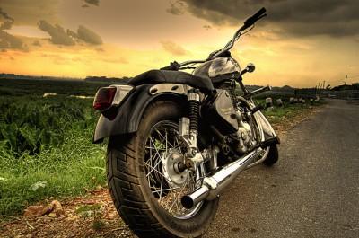 """אופנוע """"רויאל אנפילד"""" הודי."""