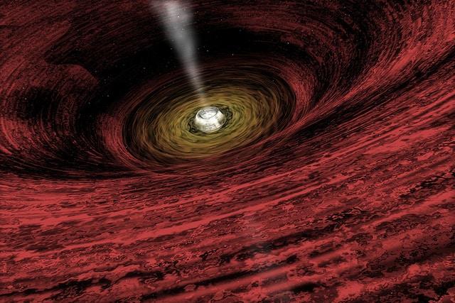חור שחור NASA