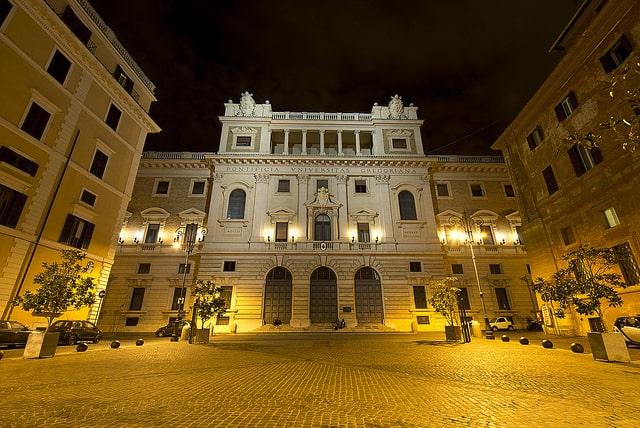 האוניברסיטה האפיפיורית הגרגוריאנית ברומא.