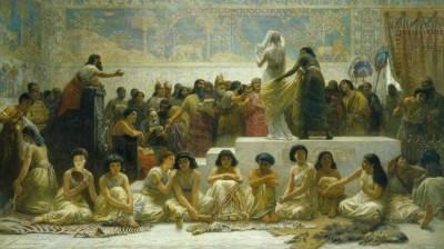 שוק הנישואין בבבל. אדווין לונג