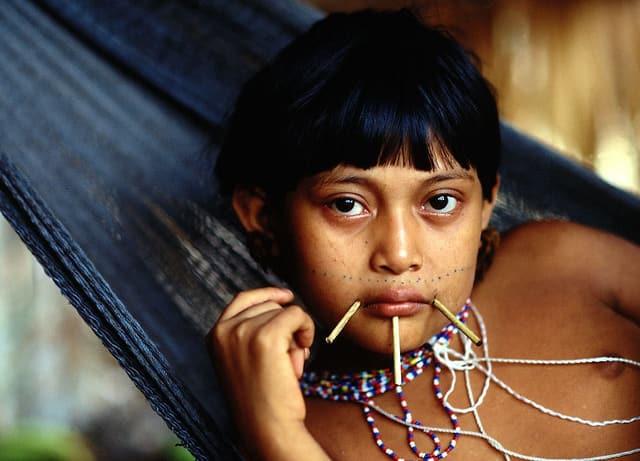 נערה משבט הינומאמי