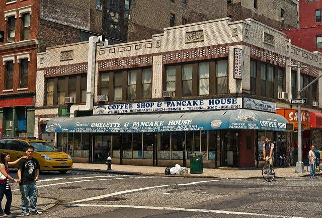 בית קפה ניו יורק, פנקייק