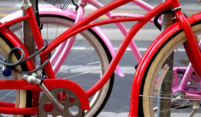 אופניים בסן פרנסיסקו, אדום וורוד