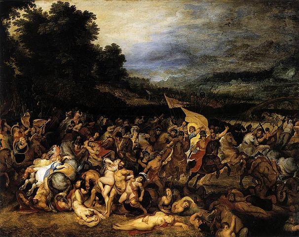 קרב האמזונות רובנס