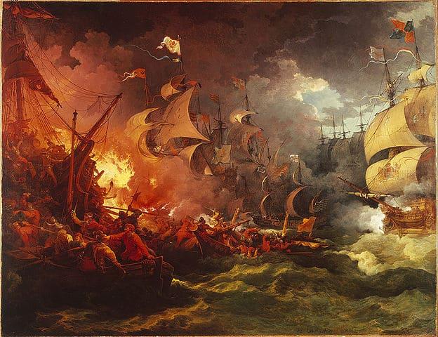 תבוסת הארמדה הספרדית, לותרברג
