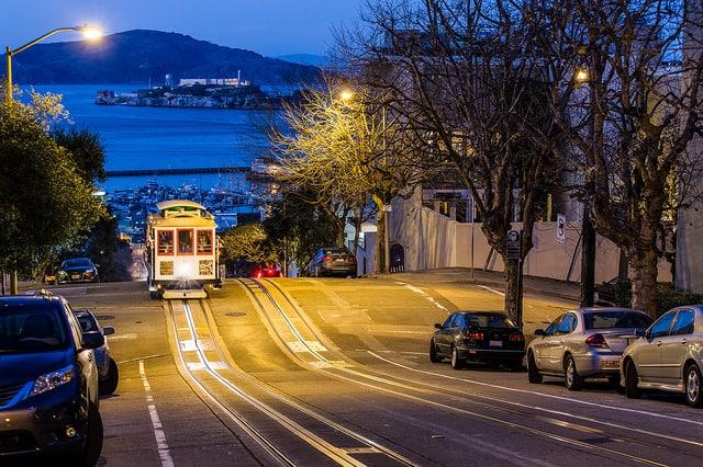 סן פרנסיסקו, פינת רחוב