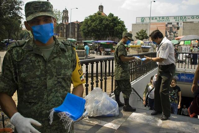 מלחמה בשפעת מקסיקו