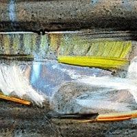 דג מצויר באלומיניום