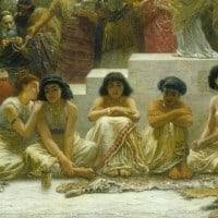שוק הנישואין בבבל, אדווין לונג