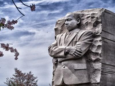 האנדרטה לזכר מרטין לותר קינג, וושינגטון.