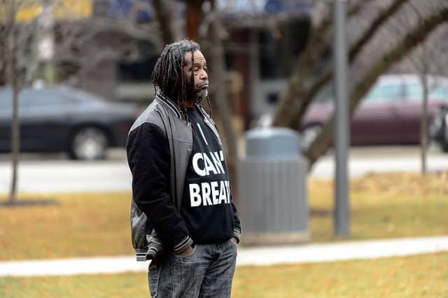אני לא יכול לנשום, מפגין, Black Lives Matter