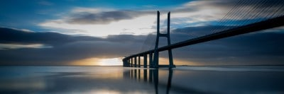 גשר ושקו דה גמה ליסבון