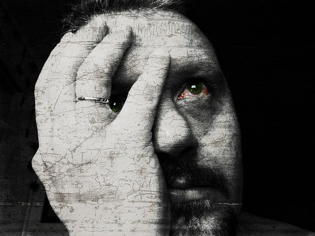 דיכאון, גבר בדיכאון
