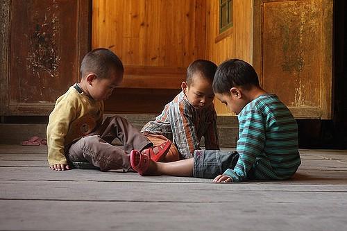 ילדים סיניים משחקים