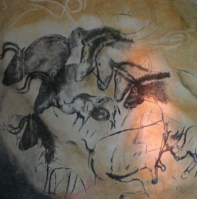 ציור קיר במערת שובה, שחזור, Chauvet