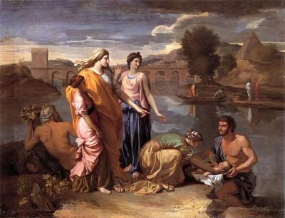 משה תינוק יאור, ניקולה פוסן