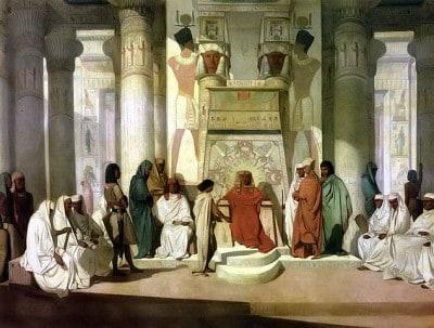"""""""יוסף מפענח את חלומות פרעה"""", ז'אן-אדריאן גינייה"""