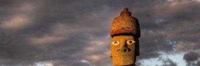 איי הפסחא, פסל
