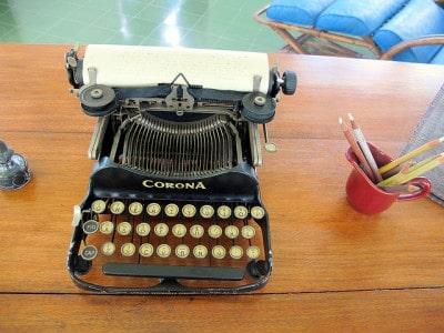 מכונת הכתיבה של המינגוויי, הזקן והים