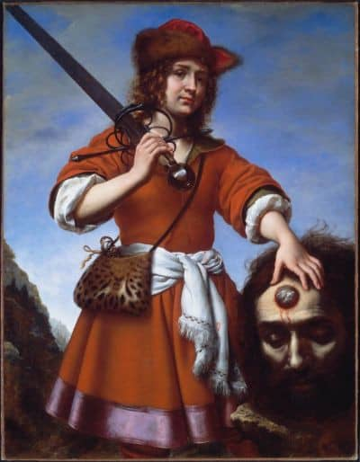 דוד עם ראשו של גוליית, קרלו דולצ'י