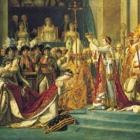 הכתרת נפוליאון, ז'אק לואי דויד