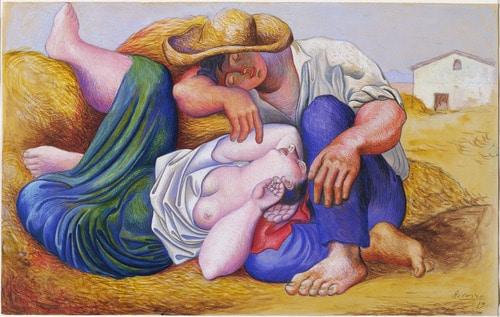 איכרים ישנים, פיקאסו
