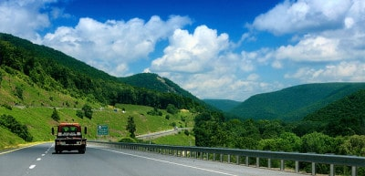 כביש ברמת Allegheny בפנסילבניה