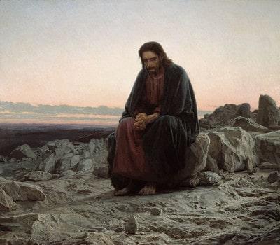 ישו במדבר, איוון קרמסקוי