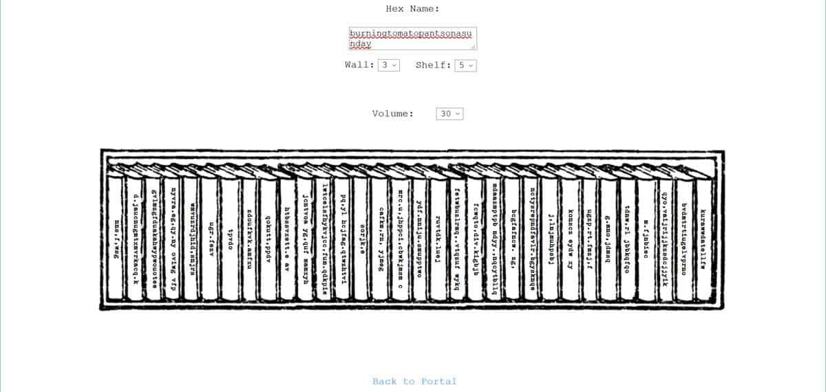 ג'ונתן בסיל, הספרייה של בבל